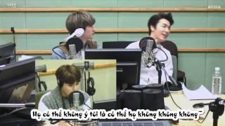 [HaeHyukVN][Vietsub]150307 Eunhyuk và Donghae thể hiện tình cảm bằng kỹ năng skinship bậc thầy!!