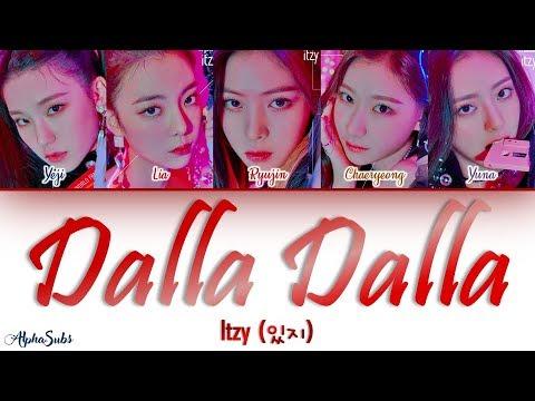 ITZY (있지) - DALLA DALLA [달라달라] Color Coded Lyrics/가사 [Han|Rom|Eng]