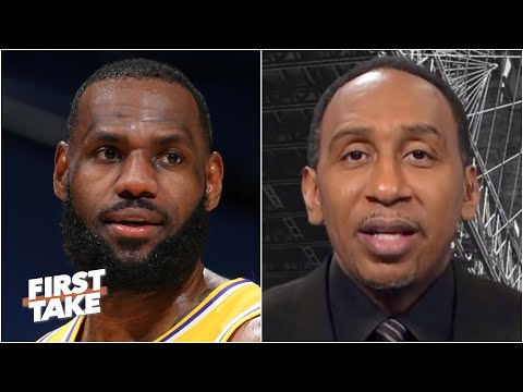 Stephen A. isn't concerned about LeBron's heavy workload with the Lakers | First Take