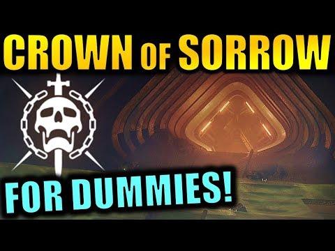 Destiny 2: CROWN OF SORROW RAID FOR DUMMIES!   Complete Raid Guide & Walkthrough!