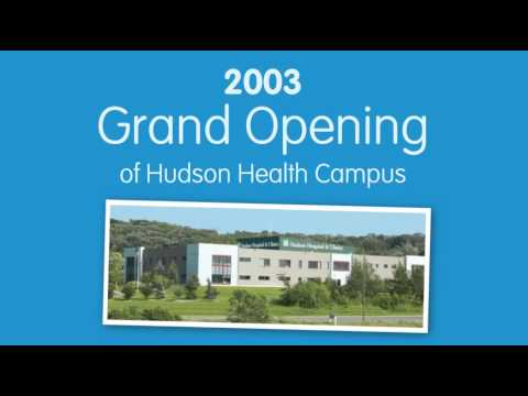Hudson Hospital & Clinics Anniversary Timeline