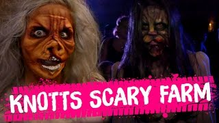HALLOWEEN MONSTER MAKEOVER at Knott's Scary Farm (Beauty Trippin)