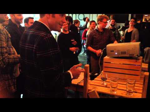 Octoparty debuts at Pop-up Arcade and Indie Game Night - Part 1