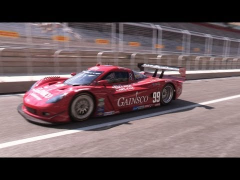 Daytona Prototype Corvette - Circuit of the Americas F1 Track