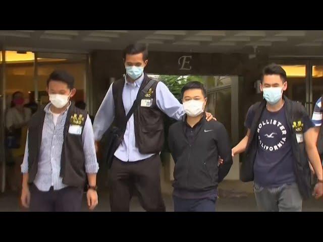 港警大動作搜捕蘋果日報人員 壹傳媒董事會6/25將決議是否停刊