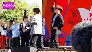 BTS ON GMA BEHIND THE SCENES 방탄소년단 Good Morning America Concert 2019