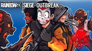 Rainbow Six: Siege - DON'T EAT US! (3 Player Co-op) ZOMBIES
