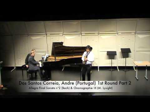 Dos Santos Correia, Andre (Portugal) 1st Round Part 2