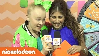 JoJo Siwa, Jacob Sartorius & More On the Kids' Choice Awards Orange Carpet! | Nickelodeon KCA 2017