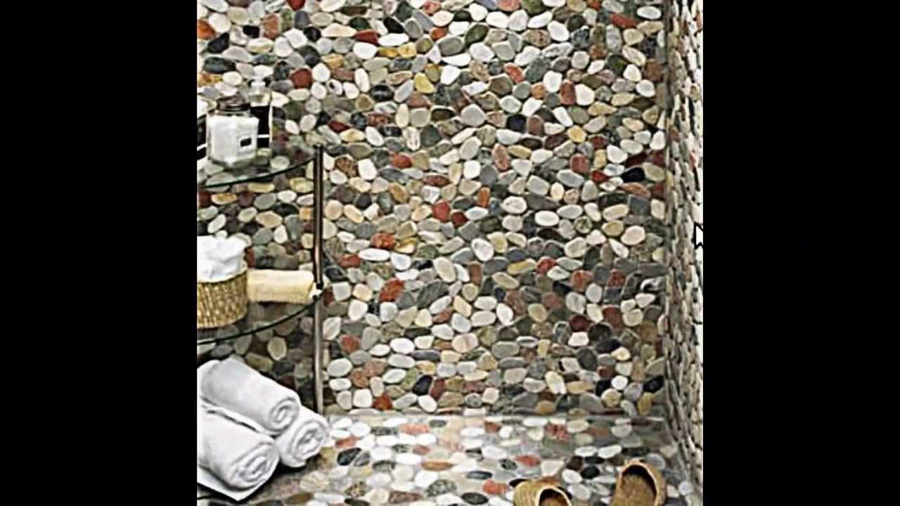 17 ideen wie sie flusssteine als dekoration im interieur verwenden youtube. Black Bedroom Furniture Sets. Home Design Ideas