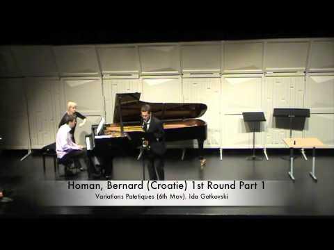 Homan, Bernard (Croatie) 1st Round Part 1