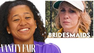 Naomi Osaka Reviews Tennis Scenes, from 'Bridesmaids' to 'Battle of the Sexes' | Vanity Fair