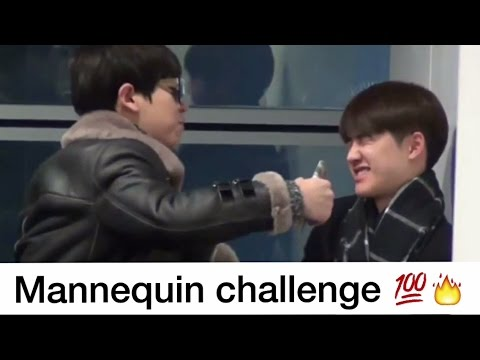 EXO Chanyeol Bullying D.O Kyungsoo! #MannequinChallenge