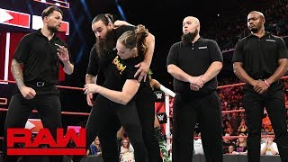 Ronda Rousey destroys Alexa Bliss' private security: Raw, Aug. 13, 2018