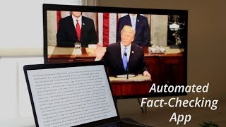 Automated Fact-Checking App video