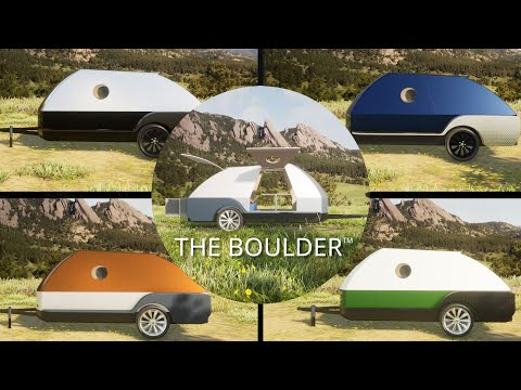 The Boulder™ is our teardrop camper trailer built specifically for owners of Electric Vehicles. www.coloradoteardrops.com to learn more. There is now backup power for your electric vehicle.