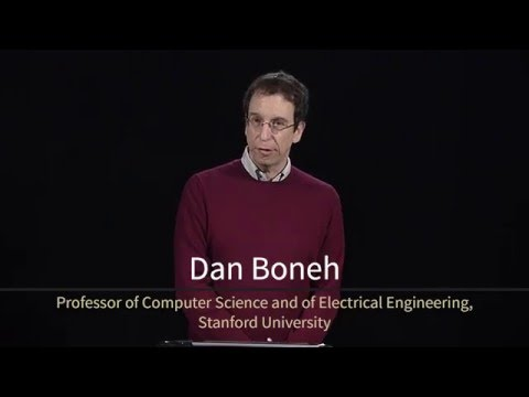 Professor Dan Boneh gives a preview of the online course 'Network Security' from the Stanford Advanced Computer Security Certificate Program.