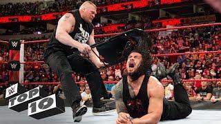 Brock Lesnar's vicious assaults: WWE Top 10, March 26, 2018