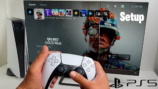 PlayStation 5 Initial Setup, Startup, Dashboard and Gameplay