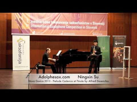 Ningxin Su - Nova Gorica 2013 - Prelude Cadence et Finale by Alfred Desenclos