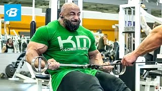 Back Day Workout With IFBB Pro Fouad Abiad