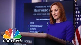White House Holds Press Briefing: January 22   NBC News