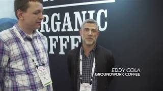 Gelson's Talks with Groundwork Coffee at the Natural Products Expo West 2019