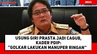 Usung Giri Prasta Jadi Cagub, Kata Kader Pdip: Golkar Lakukan Manuper Ringan