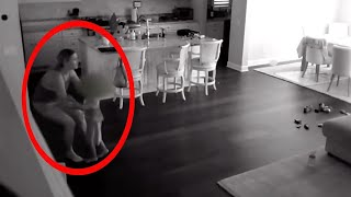 10 Creepiest Moments Caught On CCTV