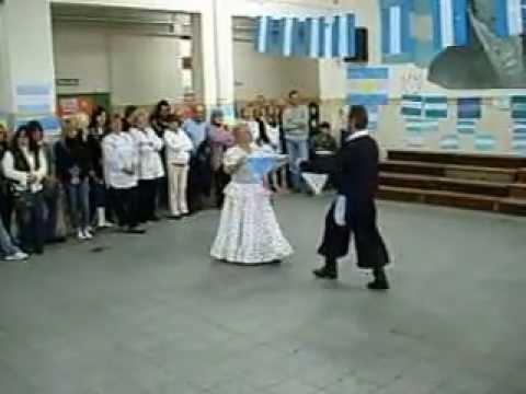 Danza de la Soberana, Malambo Blanco y Zamba. 20/06/2008. Agrupación Cruz del Sur