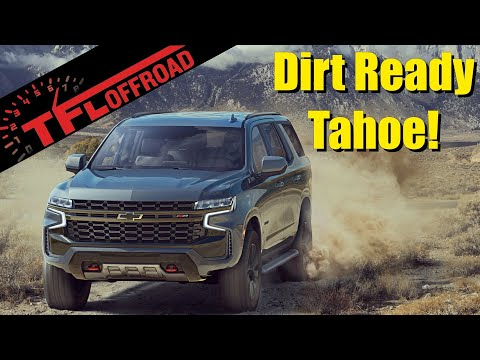 Is the 2021 Chevy Tahoe Z71 Dirt Worthy?  We Explore All its Off-Road Features to Find Out!
