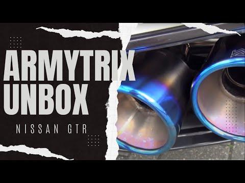 Armytrix F1 Nissan GTR R35 Exhaust System