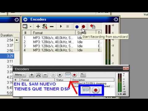Como usar SAM Broadcaster y sacar en directo por Skype [COMPLETO]