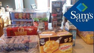 BIG SAM's Club Haul || Grocery Haul || Family of 7