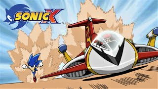 SONIC X Ep21 - Fast Friends