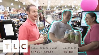 Man Gets $1,700 Worth Of Supplies FOR FREE And Donates Them To Charity | Extreme Couponing