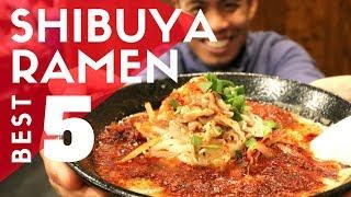 TOKYO RAMEN GUIDE - Shibuya TOP 5 Must-Eat Ramen Shops | Kaedama Special