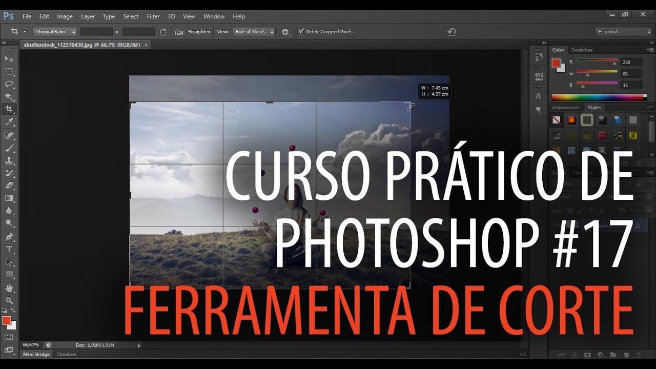 Curso De Aprimoramento Prático Mediúnico: Curso Prático De Photoshop #17