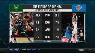 Is Kristaps Porzingis More Marketable Than Giannis Antetokounmpo?