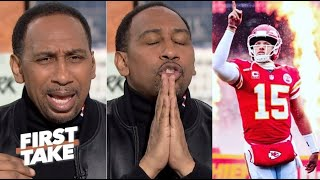"Stephen A ""voted"" Chiefs Patrick Mahomes is best player, Chiefs is #1 seed, #2 Ravens #3 Packers"