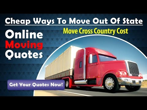 Move Cross Country Cost | Get 7 FREE Moving Quotes Now & Save Up To 35%