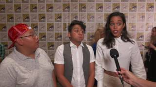 Spider-Man: Homecoming: Jacob Batalon, Tony Revolori, Tom Holland & Laura Harrier