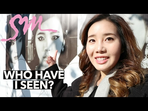 K-Pop Idols I've Seen at SM Entertainment | Storytime