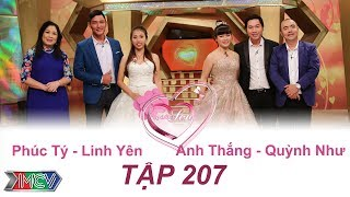 VỢ CHỒNG SON   Tập 207 FULL   Phúc Tý - Linh Yên   Anh Thắng - Quỳnh Như   060817💑