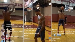 Dwight Howard Working On 3 Point Shot For Lakers This Season! #Lakers #ESPN