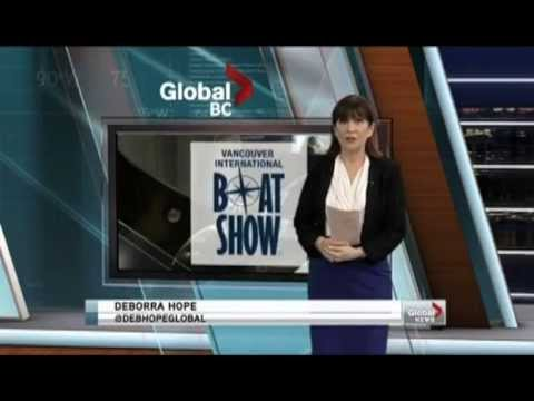 Bluefin Electric Marine on Global TV - 2013 Boat Show