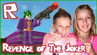 The Revenge of The Joker / Roblox Super Hero Tycoon with GamerGirl KarinaOMG