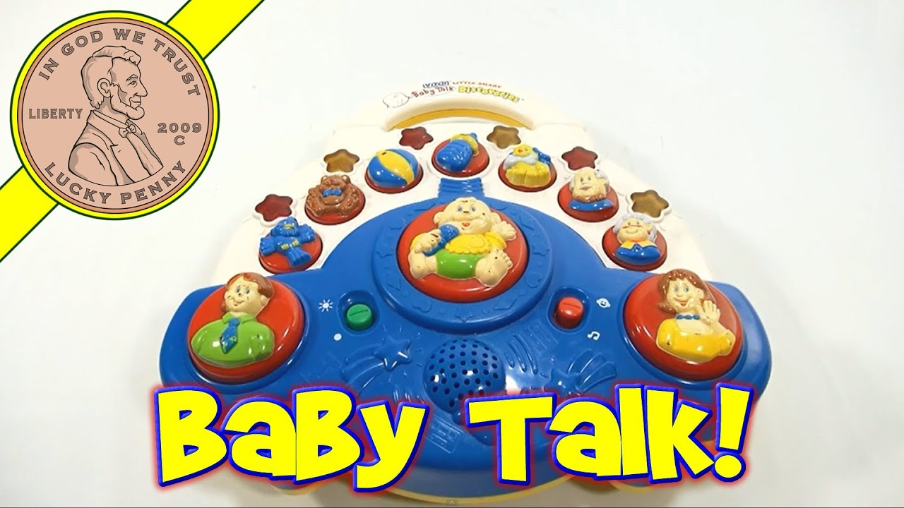 Vtech Little Smart Baby Talk Discoveries Electronic Toy