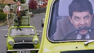Drive BEAN drive!   Funny Clips   Mr Bean Official
