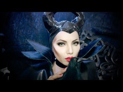 Disney S Maleficent Makeup Tutorial Youtube